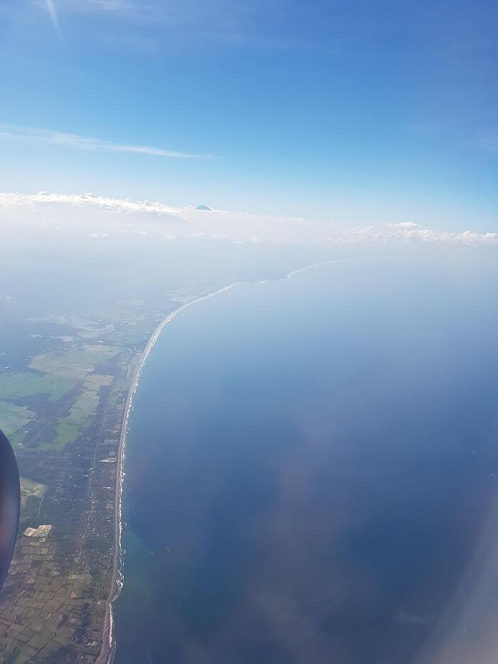 sky line of bali
