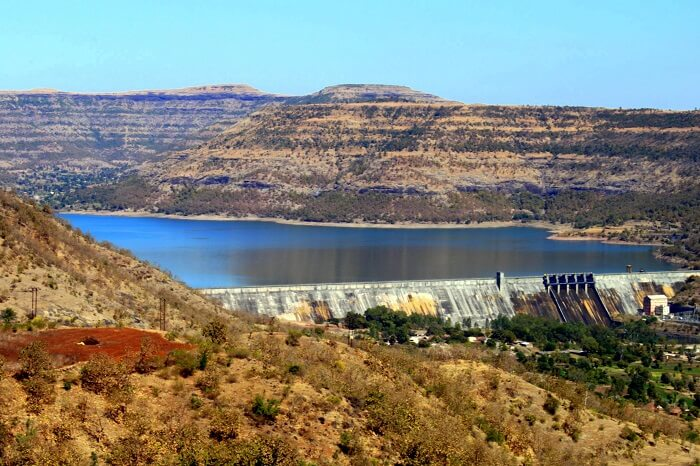 visit the Chas Kaman Dam in bhimashankar wildlife sanctuary