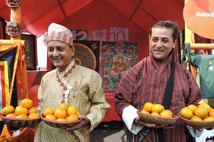 Orange Festival in Darjeeling