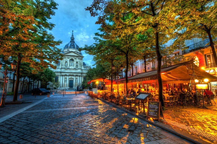 Dine near the The Sorbonne University