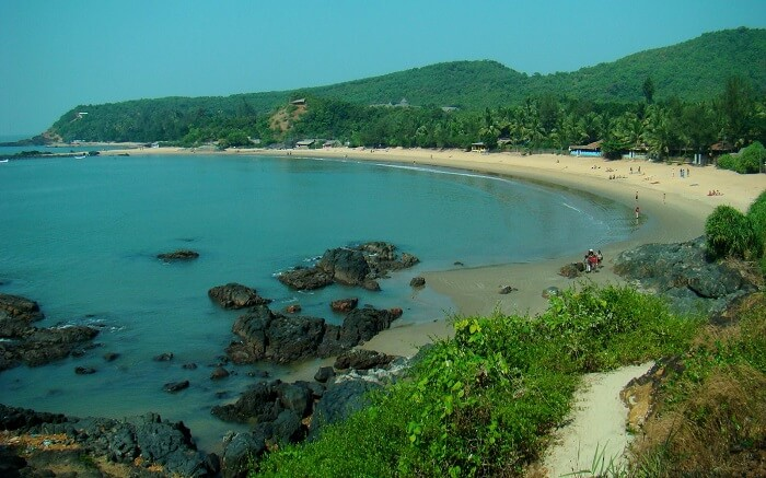 Half Moon Beach in Gokarna