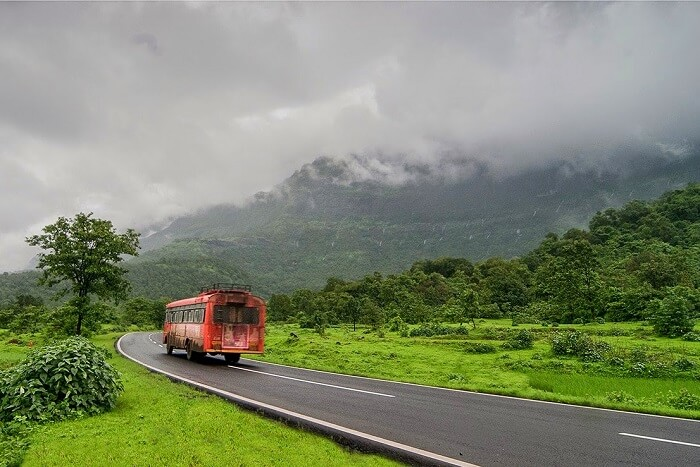 How to reach Bhimashankar Wildlife Sanctuary by bus