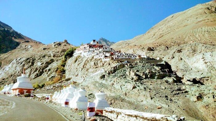 monastery in leh