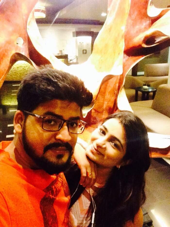 nirav and wife exploring bali by self
