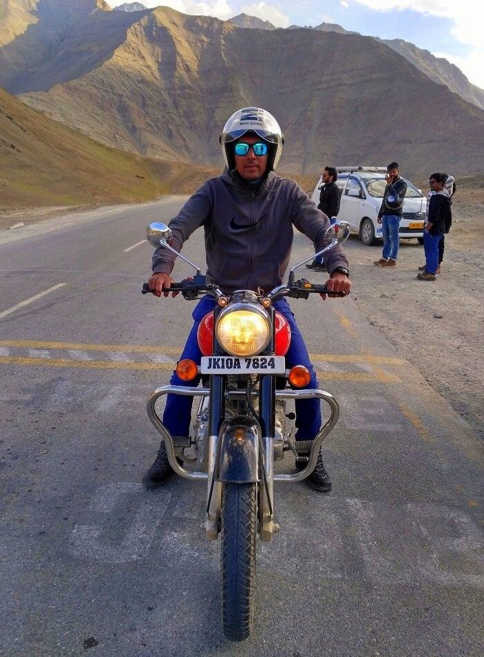 ninad magnetic hill bike ride