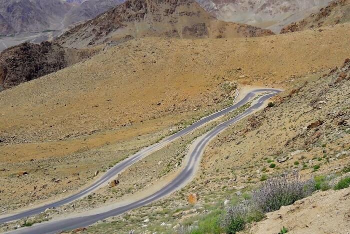 ninad views of ladakh road