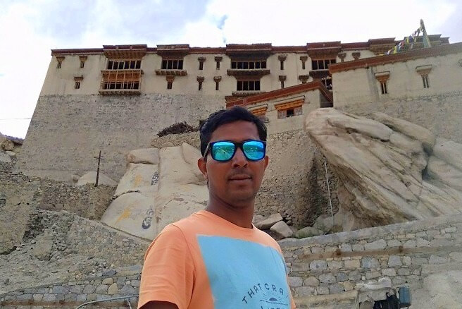 ninad at spituk monastery