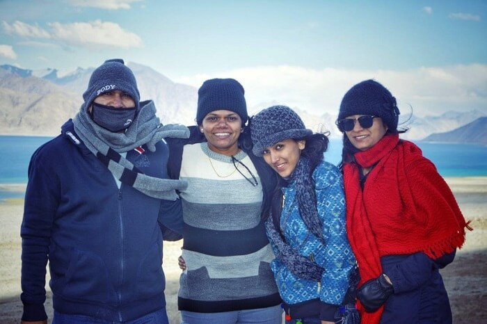 fun with family in leh