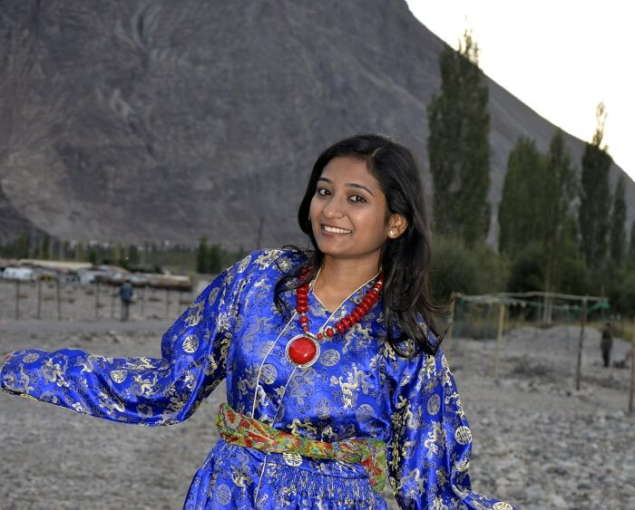 locals in ladakh