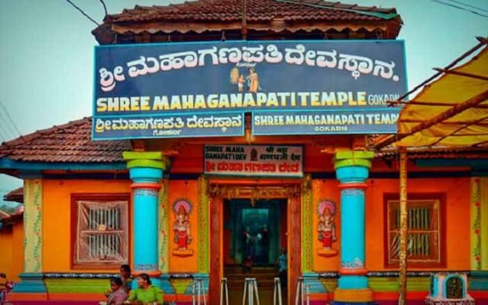 Maha Ganapati Temple In Gokarna