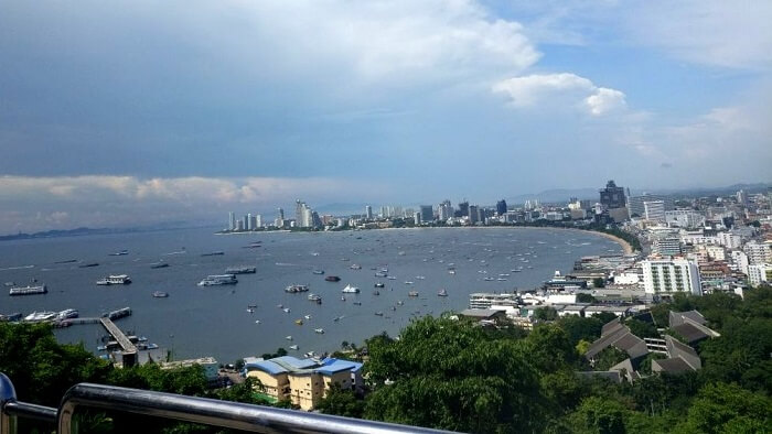view of pattaya in thailand