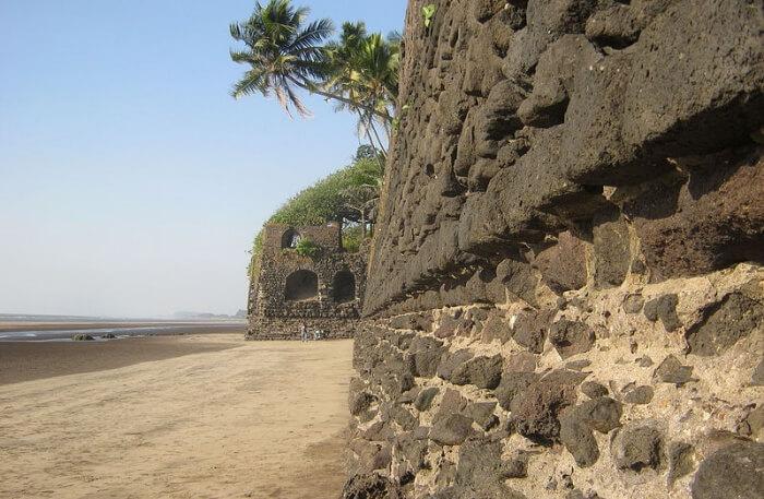 Revdanda Beach Fort View