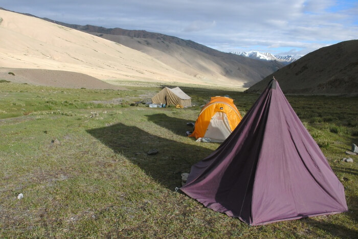 Camps for stay during trekking