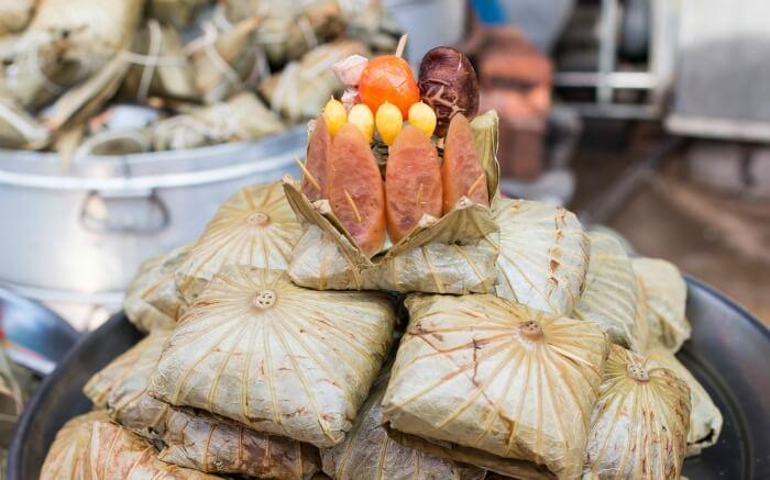 Street food of Macau