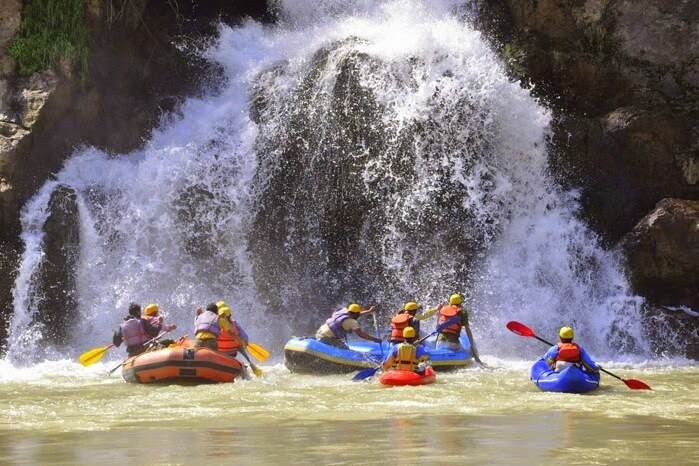 go river rafting in Tattapani river