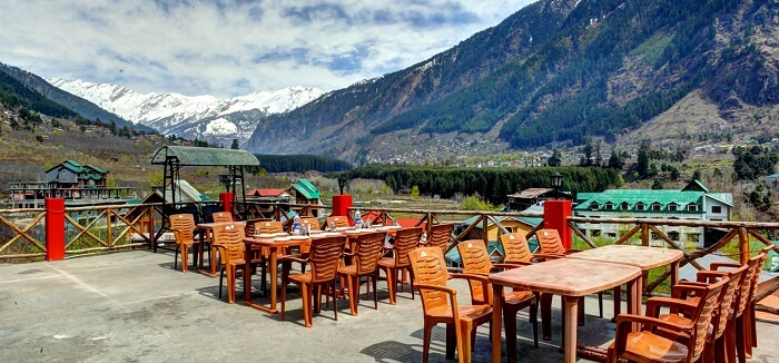 top restaurants in manali