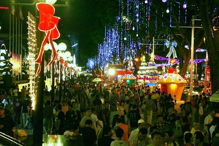 celebrate christmas in Sikkim