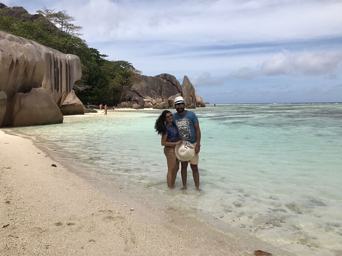 Grand Anse in Seychelles