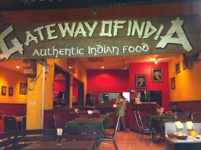 Gateway of India Restaurant in Bali