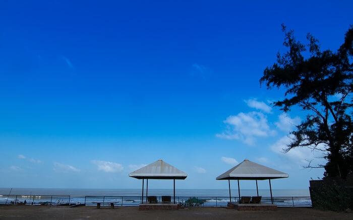 A resort near Kashid Beach