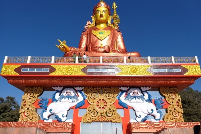 Guru Padmasambhava Statue at Namchi near Gangtok