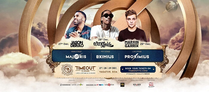 timeout festival in goa