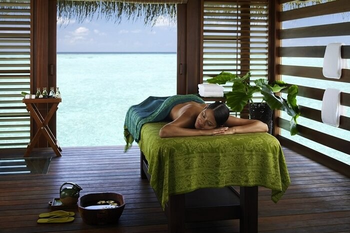 Spa sessions in Maldives