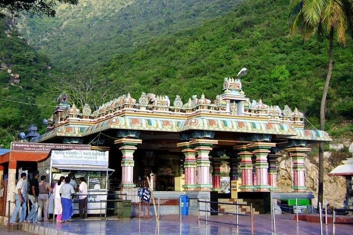 Thirumoorthy Malai Temple Coimbatore