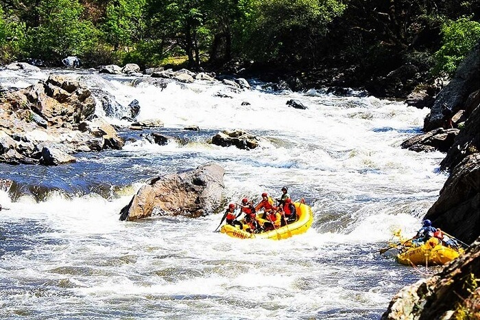 Rafting At Tuolumne River