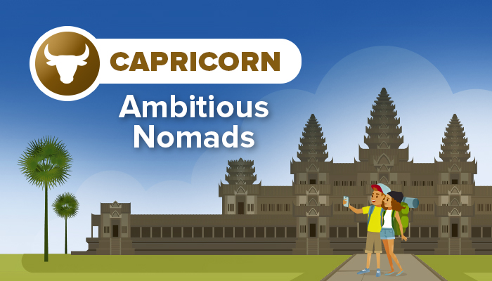 CAPRICORN ambitious nomads
