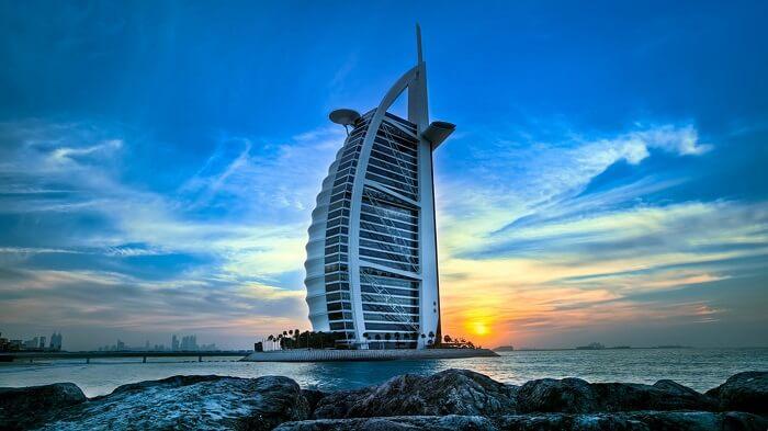 Burj-Al-Arab in Dubai