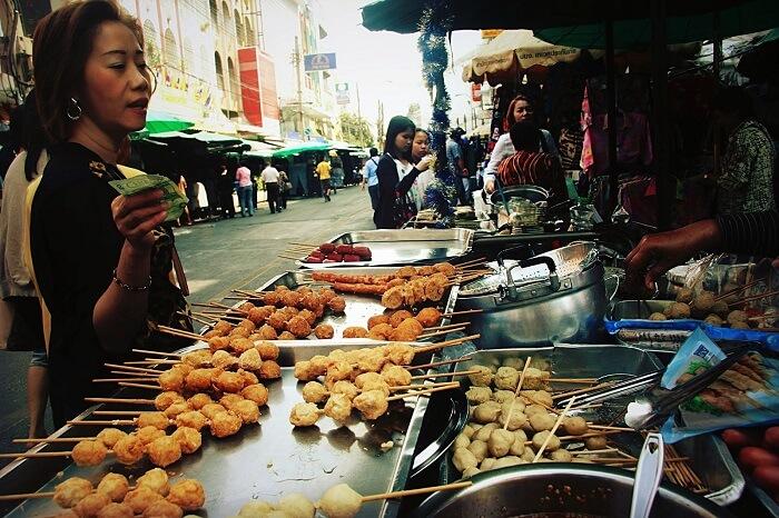 Khao San Street in Rattanakosin