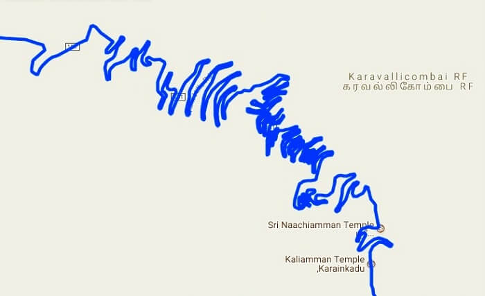 Kolli Hills Route