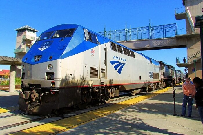 AMTRAK trains Yosemite