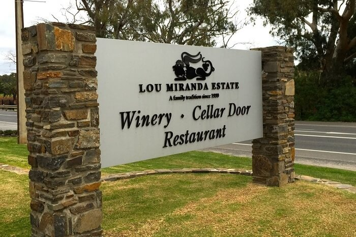 Lou Miranda Estate in Barossa