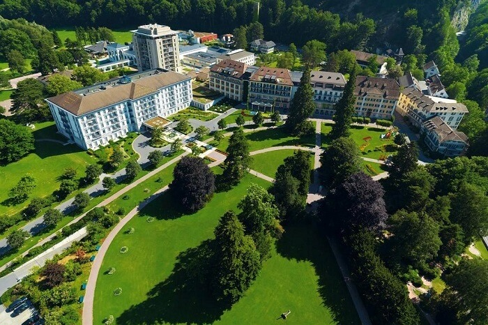 Grand Resort Bad Ragaz Switzerland