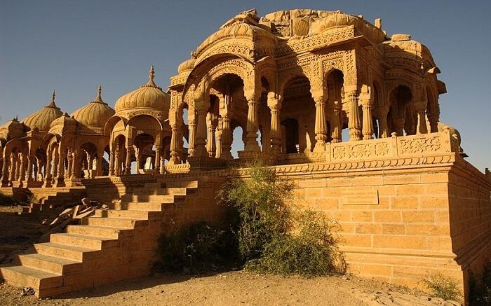 A beautiful castle in jaisalmer