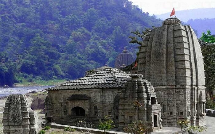 An ancient temple in Mandi