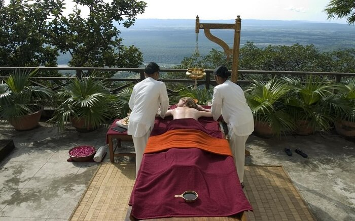 Ananda in the Himalayas spa