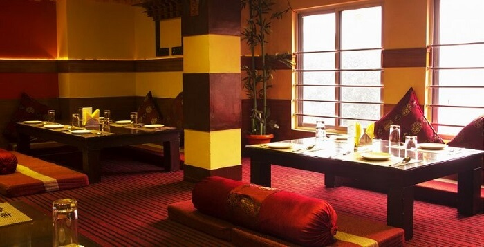 Asian kitchen hotel and bar in Bhutan