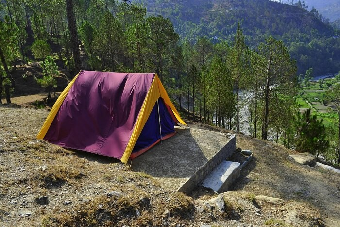stay at Back To Nature Camp in nainital