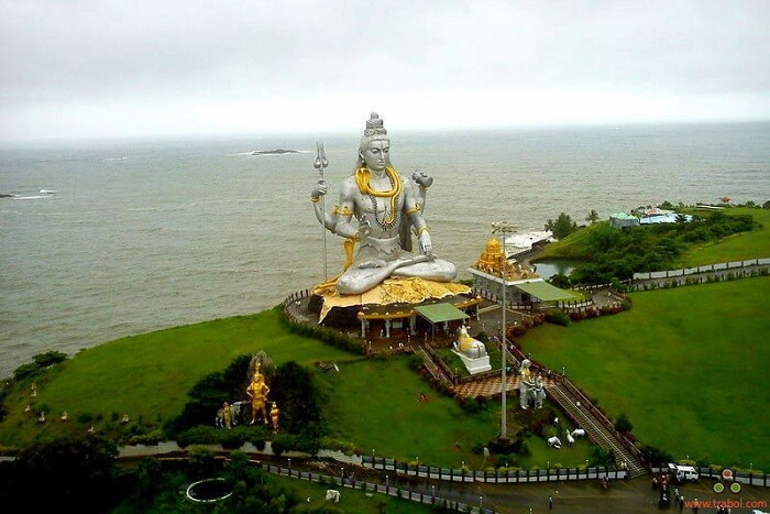 Behold The Glory Of Shiva Emerging From The Sea in Gokarna