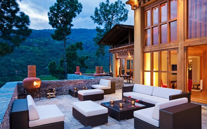 Bukhari restaurant in Bhutan