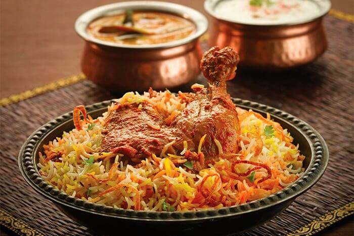 have biryani at Cafe Bahar