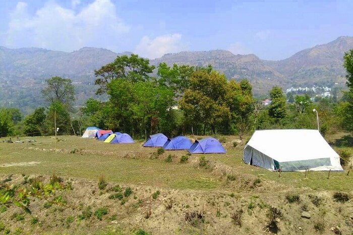 go camping in nainital at Camp Lagoon