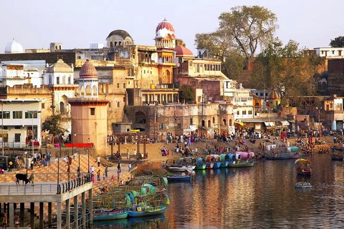 the ghats of Chitrakoot