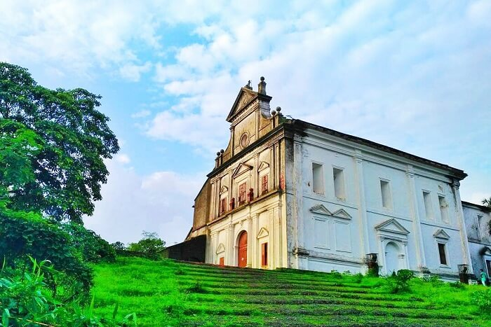visit Church of Our Lady of the Mount in goa