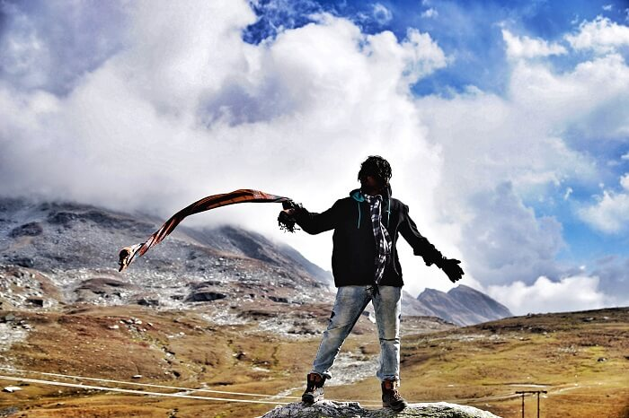scenic himachal scenery