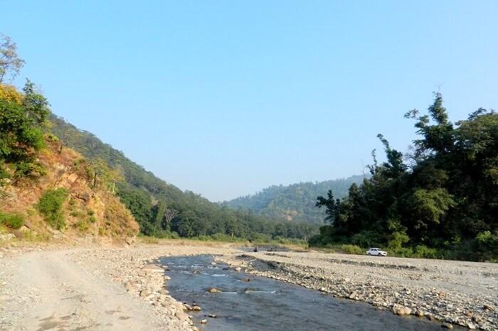 river stream near rishikesh