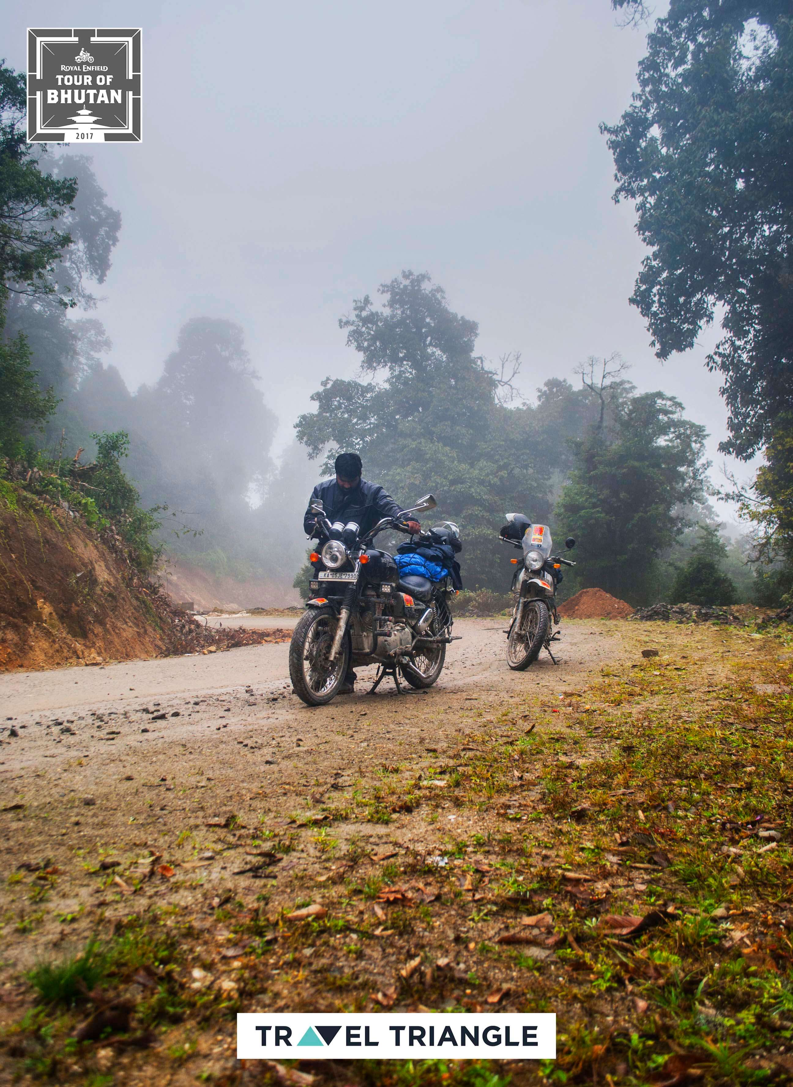 Mongar to Trashigang: treading through the tough muck
